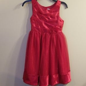 Girls dress in Red for wedding or holiday pictures
